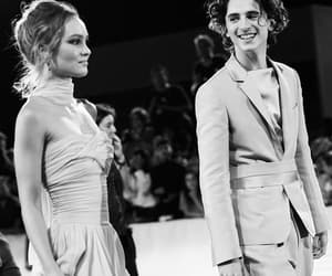 the king and timothee chalamet image