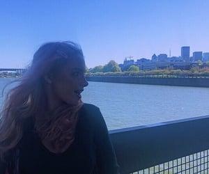 bridge, city, and girl image
