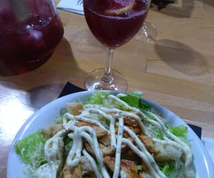 Chicken, dinner, and drink image