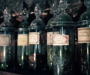 hogwarts, harry potter, and potions image