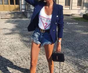 blazer, fashion, and guess image