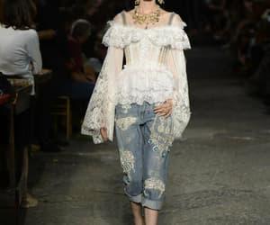 fashion, Dolce & Gabbana, and haute couture image