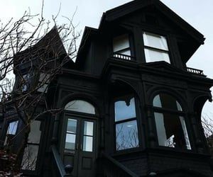 black, house, and goth image