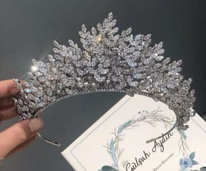 accessories, crown, and luxury image