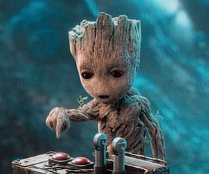 Marvel and groot image