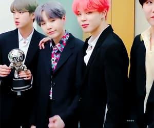 gif, jin, and min yoongi image