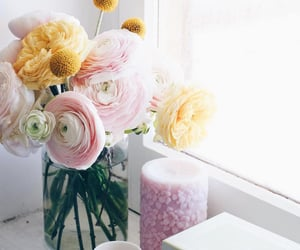 bouquet, yellow, and decor image