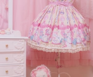 pink, cute, and pink aesthetic image