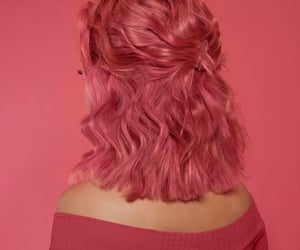 aesthetic, bubblegum, and pink hair image