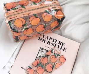 peach, aesthetic, and style image