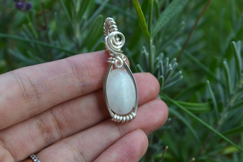 accessories, rainbow moonstone, and etsy image