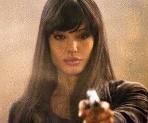 Angelina Jolie, salt, and beauty image