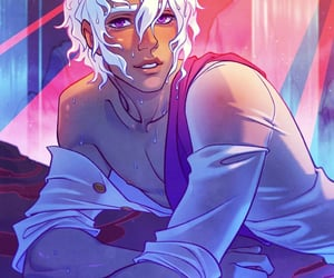 game, love story, and asra image
