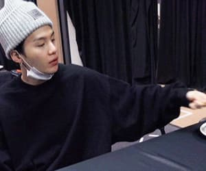 gif, lil meow meow, and bts image
