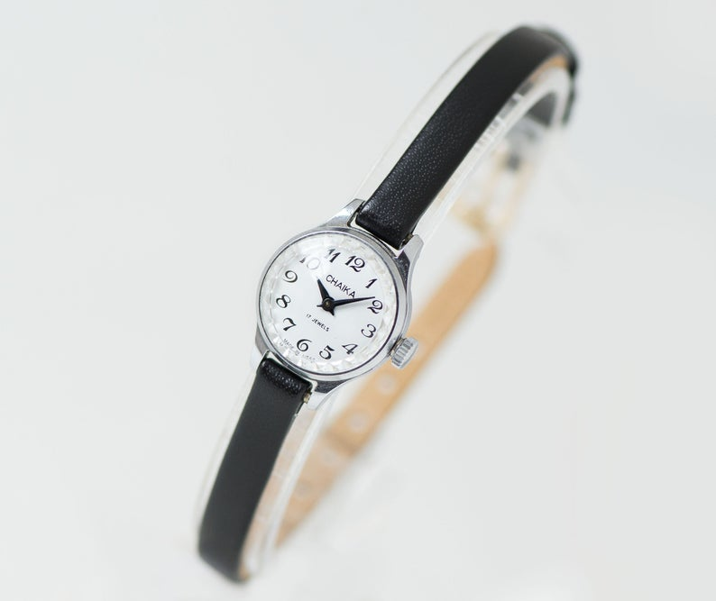 etsy, micro watch her, and arabic numerals image