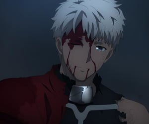 anime, archer, and fate image