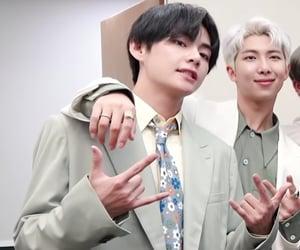army, rm, and kpop idol image