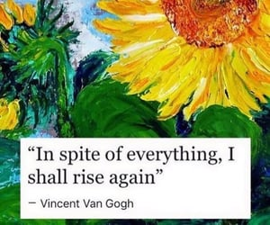 quotes, art, and sunflower image