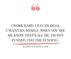 bills, career, and hard image
