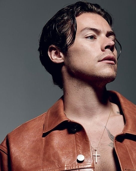 Harry For The Face Magazine On We Heart It