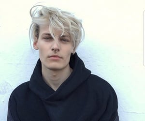 blonde, model, and boy image