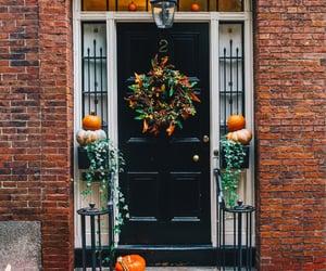 autumn, home, and pumpkin image