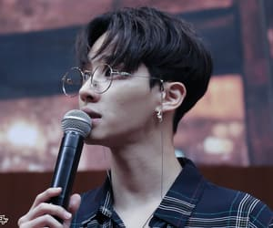 asian, glasses, and kpop image