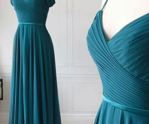 wedding party dress, custom bridesmaid dress, and bridesmaid dresses 2020 image