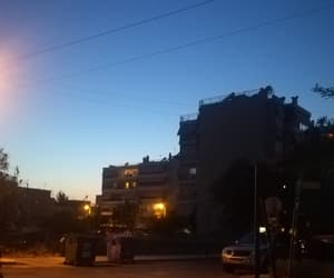 Athens, blue sky, and city image