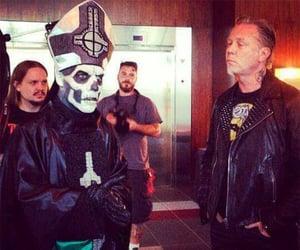 ghost, James Hetfield, and metallica image