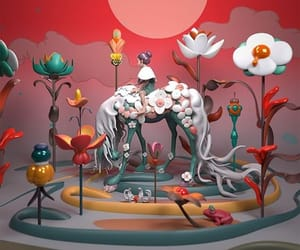 art, 3d, and James Jean image