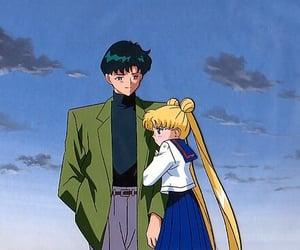 sailor moon, anime, and mamoru image