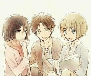 anime, kawaii, and armin image