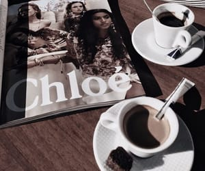 coffee, aesthetic, and black image