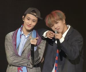 mark lee, nct u, and haechan image