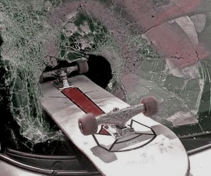 skate, car, and skateboard image