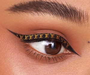 Louis Vuitton, makeup, and beauty image