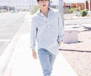 blue, jeans, and Las Vegas image