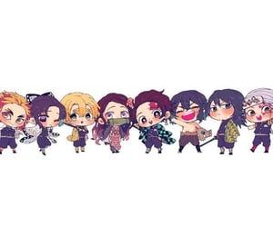 anime girl, chibi, and anime boy image