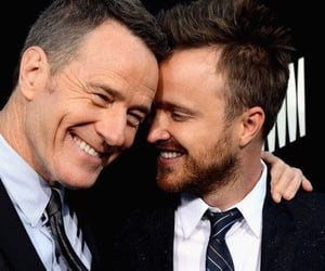 aaron paul, bryan cranston, and breaking bad awesome cast image