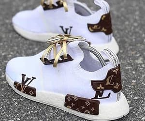 sneakers, Louis Vuitton, and shoes image