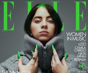 billie eilish, Elle, and green image