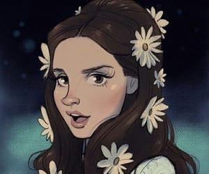 lana del rey, love, and draw image