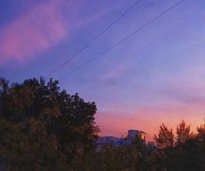 autumn, melancholy, and sunset image