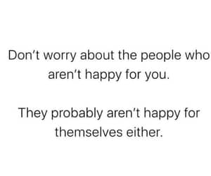 don't worry and happy for you image