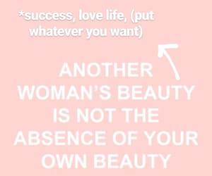 beauty, girl, and quote image