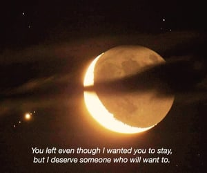 moon, quote, and quotes image