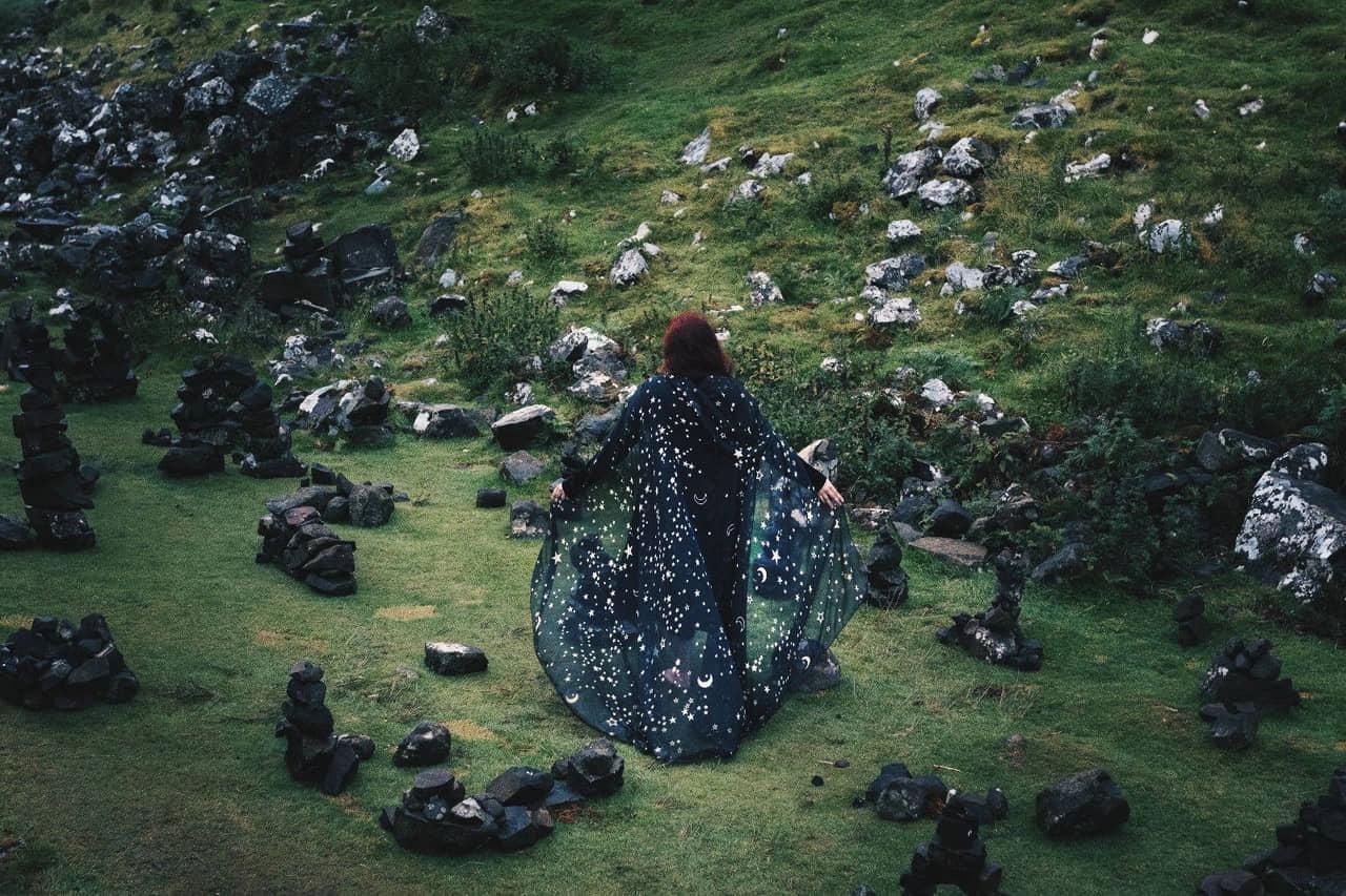 autumn, cape, and cloak image