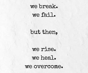 break, heal, and rise image