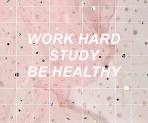 pink, study, and wallpaper image